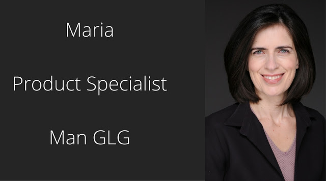 Maria, Product Specialist at Man GLG